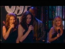 "The Army Wives perform at a charity event in what the DVD producers call a ""deleted story line."""