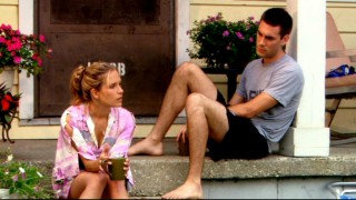 Roxy (Sally Pressman) and Trevor (Drew Fuller) muse over their future together.