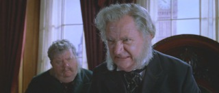 Jim Broadbent plays the bland villain Lord Kelvin, Britain's Minister of Science.