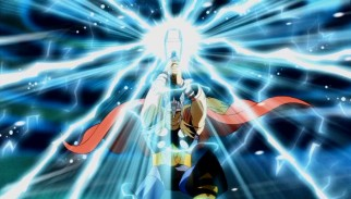 Mighty Thor and his thunderous hammer stand up to the Frost Giants in his introductory episode.