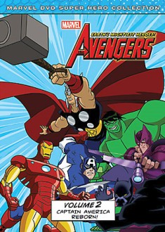 The Avengers: Earth's Mightiest Heroes! Volume 2 DVD cover art -- click to buy from Amazon.com
