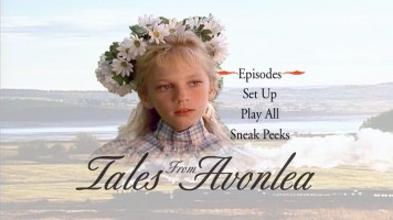 "The ""Tales from Avonlea"" Season 1 - Volume 1 (Disc 1) Main Menu"