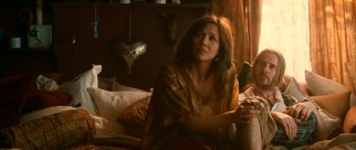 New Age Madison couple LN (Maggie Gyllenhaal) and Roderick (Josh Hamilton) live in a Continuum home, which explains why their entire bedroom is basically a big family bed.