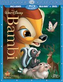 Bambi: Diamond Edition Blu-ray + DVD combo pack cover art - click to buy from Amazon.com