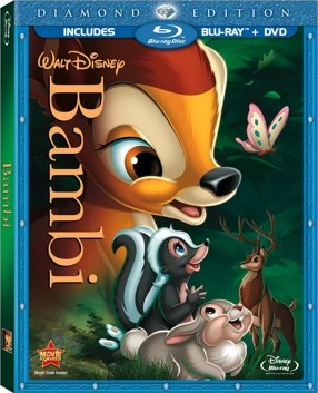 Bambi: Diamond Edition 2-Disc Blu-ray + DVD Combo cover art