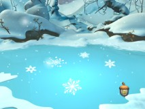 "Match the snowflakes in the sixth of seven ""Forest Adventure"" activities."