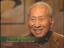 Tyrus Wong, who was upgraded from in-betweener to background artist, recalls working on the film.
