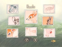 The Character Design gallery for Bambi.