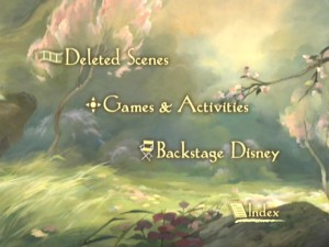 Disc 2's Main Menu