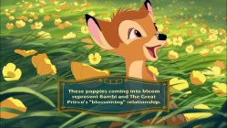 "With brilliant nuggets like this, ""Bambi's Trivia Tracks"" guarantees a unique repeat viewing opportunity."