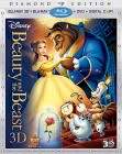 Beauty and the Beast: Blu-ray 3D + Blu-ray + DVD + Digital Copy cover art