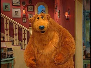 bear smells something heres a hint its you - Big Blue House