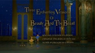 "Enjoy three versions of ""Beauty and the Beast"", none exactly true to its billing."