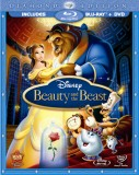 Beauty and the Beast: Diamond Edition Blu-ray + DVD combo pack cover art - click to buy from Amazon.com