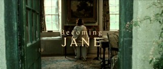 The film's title appears as Jane (Anne Hathaway) disturbs the whole household with her early morning piano playing.