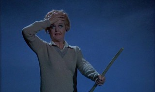 "Angela Lansbury soars as apprentice witch Eglantine Price in Disney's ""Bedknobs and Broomsticks."""