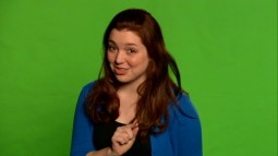 "Jennifer Stone excitedly stands before an unfilled green screen to discuss visual effects of ""Bedknobs and Broomsticks"" and her Disney Channel show ""Wizards of Waverly Place."""