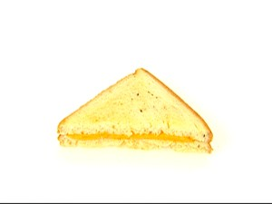 You may not know it, but that grilled cheese sandwich half you're eating is actually a triangle.