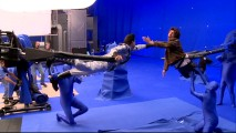 "As ""Until Gravity Do Us Part"" shows us, Guy Pearce and Adam Sandler do battle with the help of blue screen, blue men, and cranes."