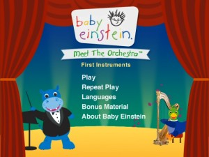 baby einstein meet the orchestra vhsl