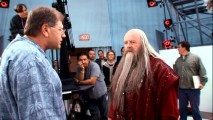 "Robert Zemeckis directs a fully-costumed Oscar winner (Anthony Hopkins) in ""A Hero's Journey: The Making of 'Beowulf.'"""