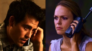 He (Marcus Coloma) is no Manolo Cardona, and she (Erin Cahill) is no Piper Perabo, but landscaper Sam and socialite Rachel use phone technology keep in touch across opposite sides of the globe.