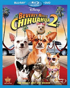 Beverly Hills Chihuahua 2 cover art -- click to buy Blu-ray + DVD Combo Pack from Amazon.com