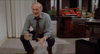 "MacMillan (Robert Loggia) recalls a wooden duck toy he perfected in this new scene, exclusive to the Extended Edition of ""Big."""