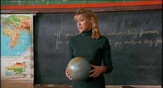 New to town, Miss Anna Montgomery (Olivia d'Abo) has to adjust to unusual teaching conditions.