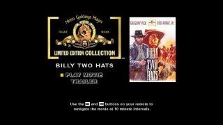 Your options are limited on this MGM Limited Edition Collection DVD's main menu.