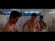 """Dating"" perhaps passes the bounds of a PG-13 rating with the sexual humor of this deleted scene, in which Danny and Larry (Eddie Kaye Thomas) shower at the gym."