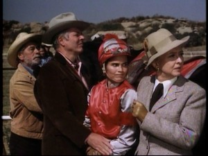 The not-so-honest plans of two jealous jockeys are overheard by Penny and her family.