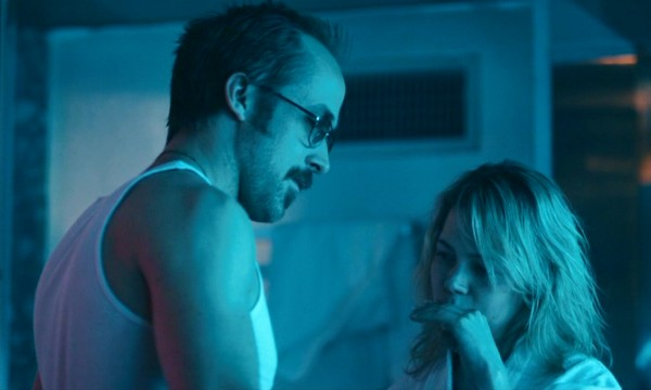 Ryan Gosling and Michelle Williams play an unhappy married couple sharing the future room in a themed motel.