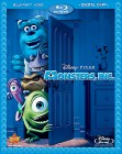 Monsters, Inc. Blu-ray Disc + DVD cover art