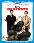 Old Dogs Blu-ray Disc/DVD/Digital Copy cover art