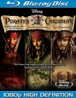 Pirates of the Caribbean Trilogy Blu-ray Disc cover art