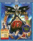 Snow White and the Seven Dwarfs: Diamond Edition Blu-ray Disc + DVD cover art
