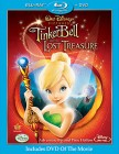 Tinker Bell and the Lost Treasure Blu-ray Disc + DVD cover art