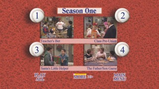 Boy Meets World: The Complete First Season - Episode Selection Menu on Disc 2