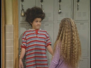 One of Cory and Topanga's earliest moments together.