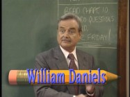William Daniels in the restored opening credits sequence.