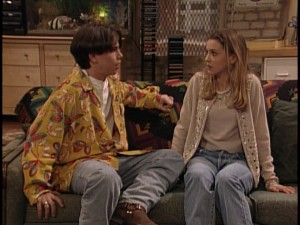 "Shawn actually has the same girlfriend for two episodes, ""nice girl"" Dana Pruitt (played by Larisa Oleynik)."