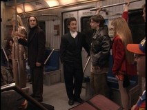 New Year's Eve spent par-tay-ing on a subway, and not a single high school dropout is inspired to return to school!