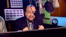 Actors Studio dean emeritus James Lipton gets to put his theory to the test as the voice of the Bolt TV show's inflated director.