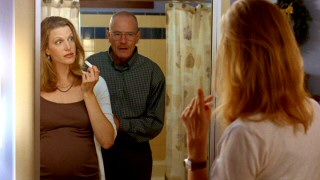 The communication lines between Walter and his pregnant wife Skyler (Anna Gunn) aren't what you'd hope they be for expecting parents.