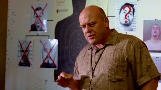 White family relative and DEA agent Hank Schrader (Dean Norris) has a flavorful way of updating and encouraging his department on the hunt for their meth-cooking man.
