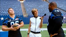 Dallas Desperados Jeremy Calahan and Van Nelson get a strange on-field interview by Brüno in this deleted scene.