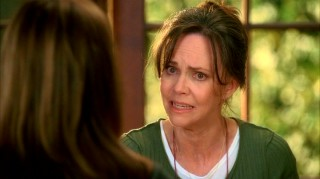 Recent Emmy winner Sally Field portrays Nora, the Walkers' emotional mother who is widowed in the series premiere.