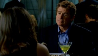 "Nora moves from one stud to another, although contractor David (Treat Williams) clarifies their so-called ""Date Night"" in front of a bright alcoholic drink."