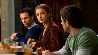 All eyes are on Rebecca (Emily VanCamp) as she dines with the Walker family for the first time.